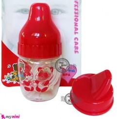 قندداغ خوری 2 کاره نوزاد و کودک فلاور بی بی Flower baby small feeding bottle