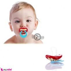 پستانک لب و دندان خنده دار نوزاد و کودک Joyful Baby Pacifier