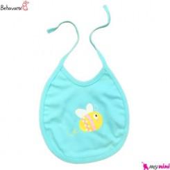 پیشبند نوزاد و کودک 2 لایه طرح هاچ به آوران Behavaran Baby Clothes