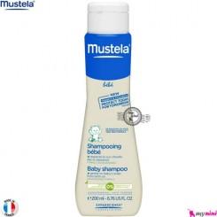 شامپو سر نوزاد و بچه موستلا mustela baby shampoo