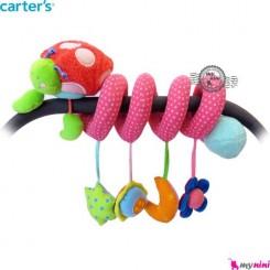 آویز تخت و کریر پیچ پیچی کفشدوزک کارترز Carter's baby play activity spiral