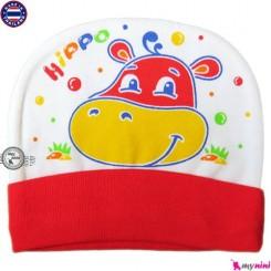 کلاه کشی نوزاد و کودک اسب آبی Cotton Hat