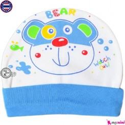 کلاه نخی کشی نوزاد و کودک خرس Cotton Hat