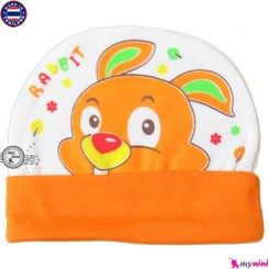 کلاه نخی کشی نوزاد و کودک خرگوش تایلندی Newborn cotton hat