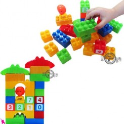 خانه سازی لِگو نوزاد و کودک آدمک Toys blocks building
