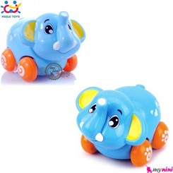 فیل هویلی تویز اسباب بازی نشکن Huile Toys animal cars