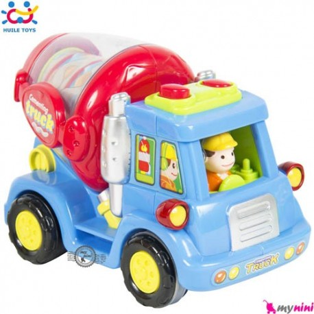 ماشین بونکر اسباب بازی هویلی تویز Huile Toys