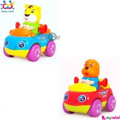 ماشین حیوانات هویلی تویز ببر و سگ Huile Toys animal cars