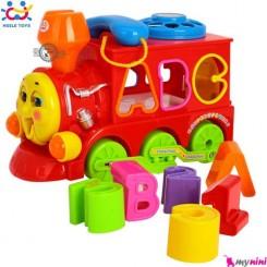 قطار هویلی تویز آموزشی و متحرک Huile Toys smart train