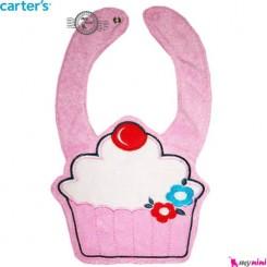 پیشبند کارترز پولیشی کیک Carter's baby plush bibs