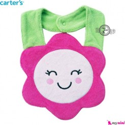 پیشبند کارترز پولیشی گل Carter's baby plush bibs