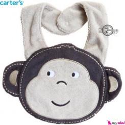 پیشبند کارترز پولیشی میمون پسر Carter's baby plush bibs