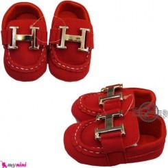 کفش نوزاد و کودک کالج قرمز Boy Shoes