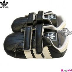 کفش اسپرت بچگانه آدیداس مشکی و سفید Adidas baby shoes