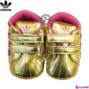 کفش اسپرت بچگانه آدیداس طلایی Adidas baby shoes