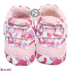 کفش اسپورت نوزاد و کودک تونو صورتی Baby Sport shoes