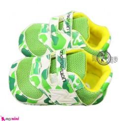 کفش اسپورت بچه تونو سبز Baby Sport shoes