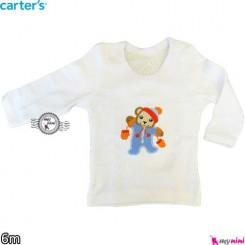 بلوز کارترز خرس کوچولو carter's long sleeve t shirts