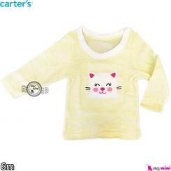 لباس بچه کارترز 6 ماه carter's long sleeve t shirts