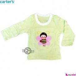 لباس کارترز زنبور سبز carter's long sleeve t shirts