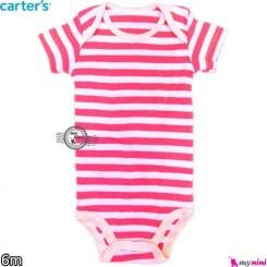 کارترز بادی 6 ماه Carter's short sleeve bodysuits