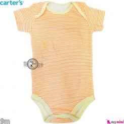 بادی کوتاه کارترز 9 ماه Carter's short sleeve bodysuits
