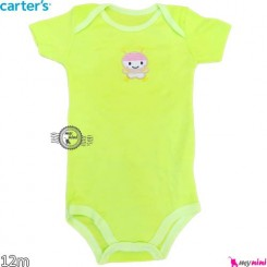 بادی کارترز آستین کوتاه 12 ماه Carter's short sleeve bodysuits