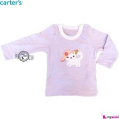 بلوز کارترز یاسی گربه carter's long sleeve t shirts
