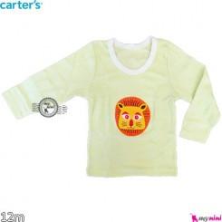 بلوز کارترز شیر 12 ماه carter's long sleeve t shirts