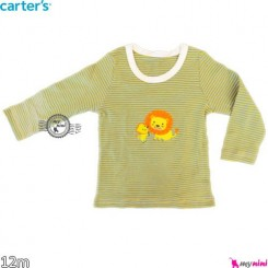 بلوز کارترز شیر راه راه 12 ماه carter's long sleeve t shirts