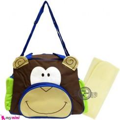 ساک لوازم نوزاد میمون Newborn diaper bag
