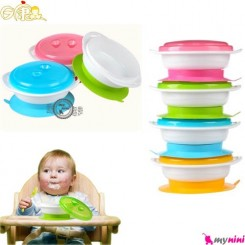 ظرف غذا چسبی ریکانگ Rikang baby bowl