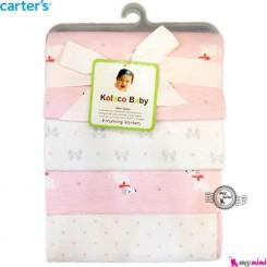 خشک کن کارترز سگ صورتی Carter's baby blanket