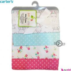 خشک کن کارترز خرگوش خالدار Carter's baby blanket