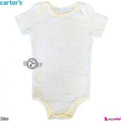 آستین کوتاه کارترز زیردکمه 18 ماه Carter's short sleeve bodysuits