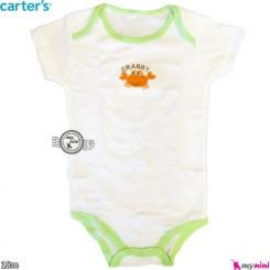 بادی کوتاه کارترز 18 ماه Carter's short sleeve bodysuits