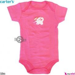آستین کوتاه زیردکمه کارترز 18 ماه Carter's short sleeve bodysuits