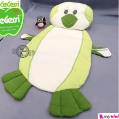 تشک و بالش نوزاد ببسی پنگوئن سبز Bebessi baby mattress