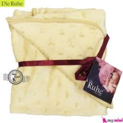 پتو دورپیچ نوزاد و کودک دی روحه نسکافه ای Die Ruhe Baby Blanket