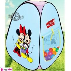 چادر بازی کودکان میکی موس Kid's baby play tent