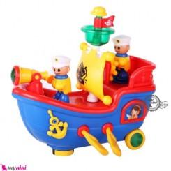 کشتی بادبانی موزیکال Sailing ship toys