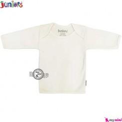 بلوز جونیورز آستین بلند نخی Juniors baby shirt