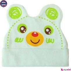 کلاه کشی گوش دار نوزاد و کودک Cotton Hat