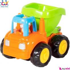 ماشین کامیون هویلی تویز Huile Toys building car