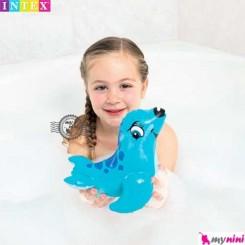 اسباب بازی حمام و استخر اینتکس فُک دریایی Intex Puff n play