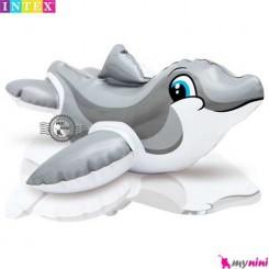 اسباب بازی حمام و استخر اینتکس دلفین Intex Puff n play