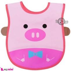پیشبند ضدآب خوک Baby bibs