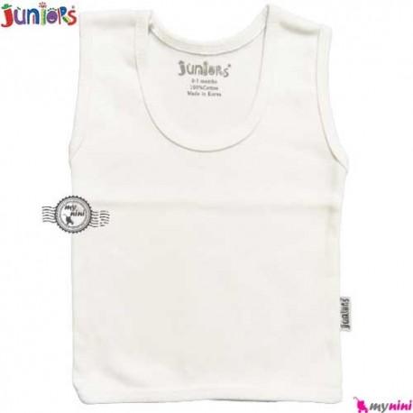 رکابی جونیورز پنبه ای Juniors sleeveless shirt