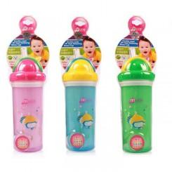 لیوان ضد چکه سوپاپ دار دو جداره Baby tube cup