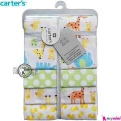 خشک کن کارترز زرافه Carters newborn blanket